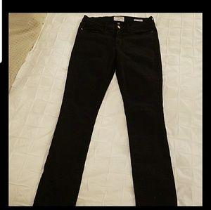 Frame skinny jeans 28 black